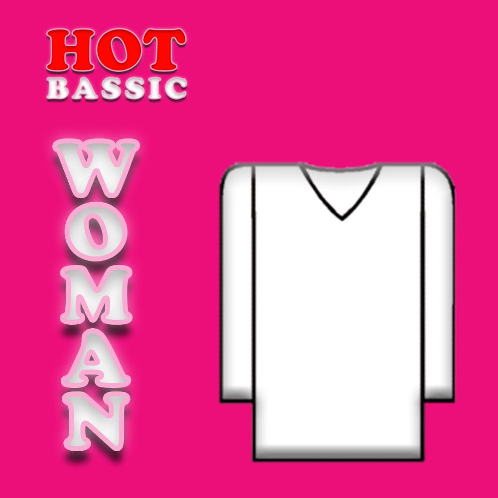 Mlarga Bassic 8310 Camiseta Hot Felpa Anmol Mujer hQtrdsCx