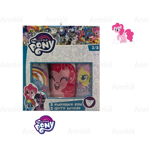 PACK3 BRAGAS MY LITTLE PONY