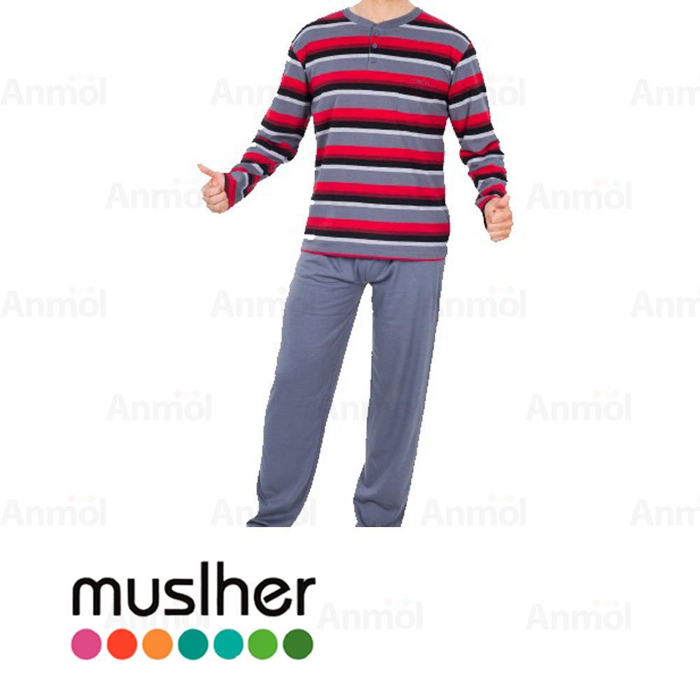 Pijama Hombre Interlock Muslher 195009 Anmol
