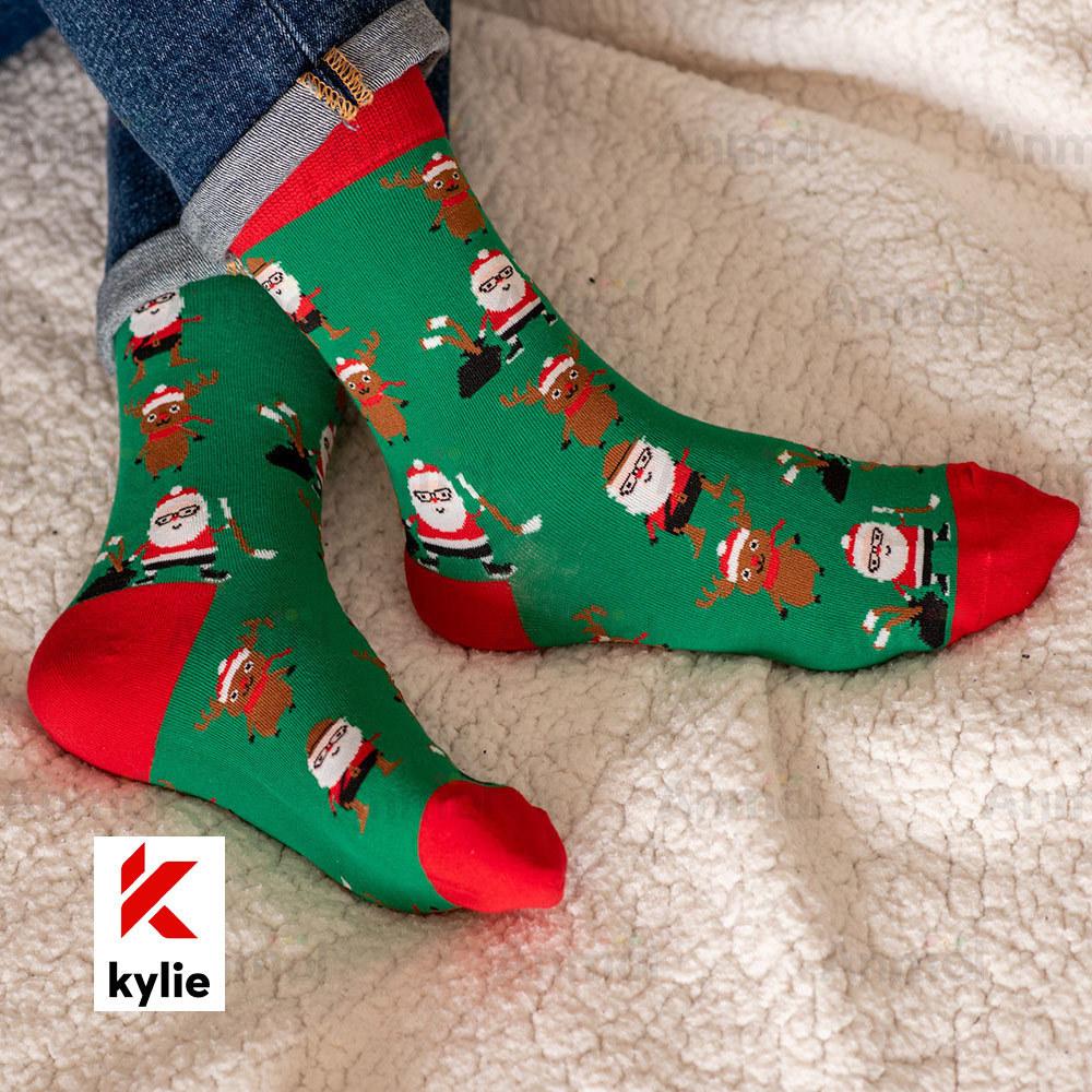 calcetines navideños kylie crazy